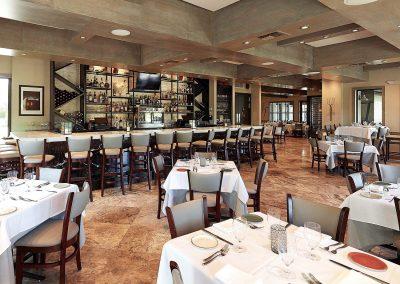 La Masseria Florida interior view with bar